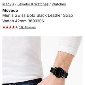 Movado watch new